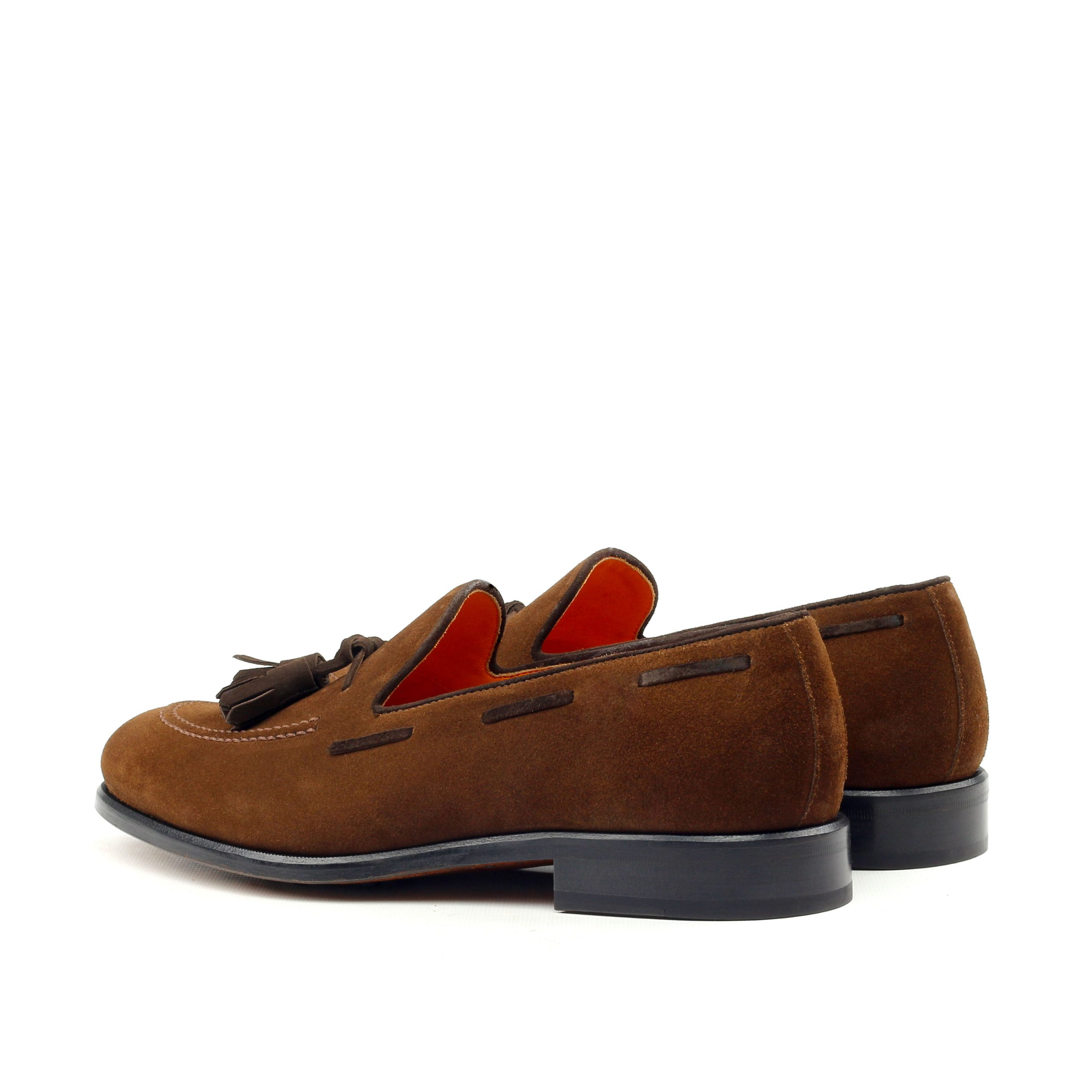 Tassel Loafer ante marrón
