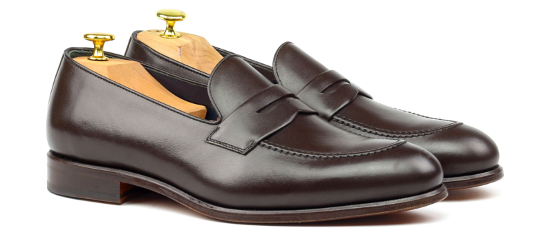 Loafer LUCA en boxcalf marron_1-6
