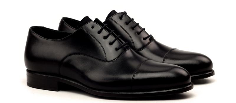 Oxford cap toe black Cambrillon