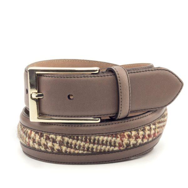 cinturon-para-hombre-boxcalf-marron-y-tweed-VERGARA-2