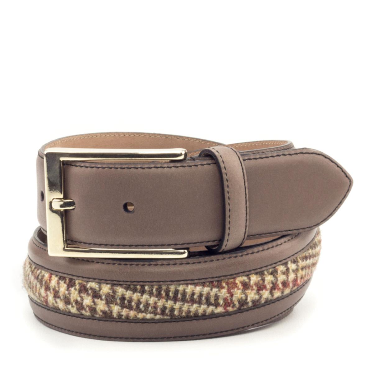 cinturon-para-hombre-boxcalf-marron-y-tweed-VERGARA-CAMBRILLON