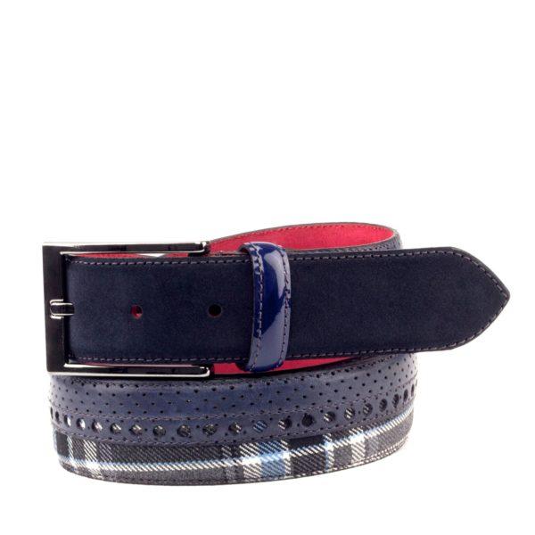 cinturon-para-hombre-boxcalf-y-ante-azul-marino-y-tejido-lana-RETIRO-2