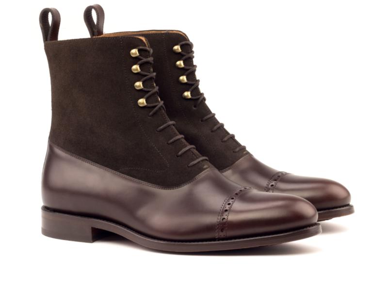 balmoral boot marrón2