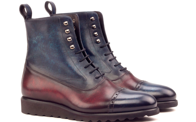 balmoral boot crust patina