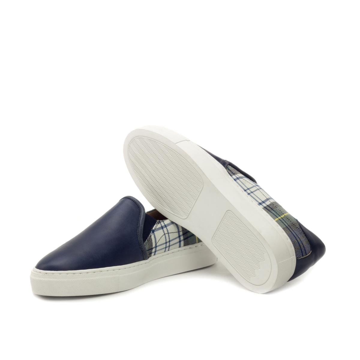 Slip On Sneaker - Painted Calf Marine