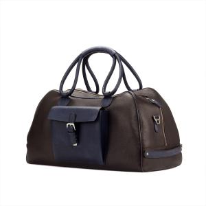 Bolsa de viaje para hombre en boxcalf marrón COOK