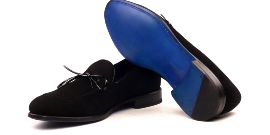 Loafer Patent suede