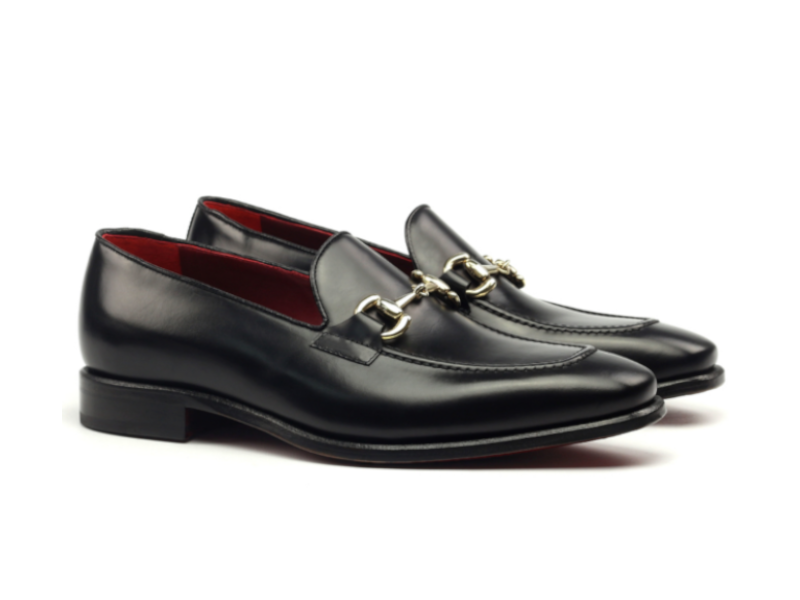 Gucci loafer para hombre negro Goodyear welted Cambrillon