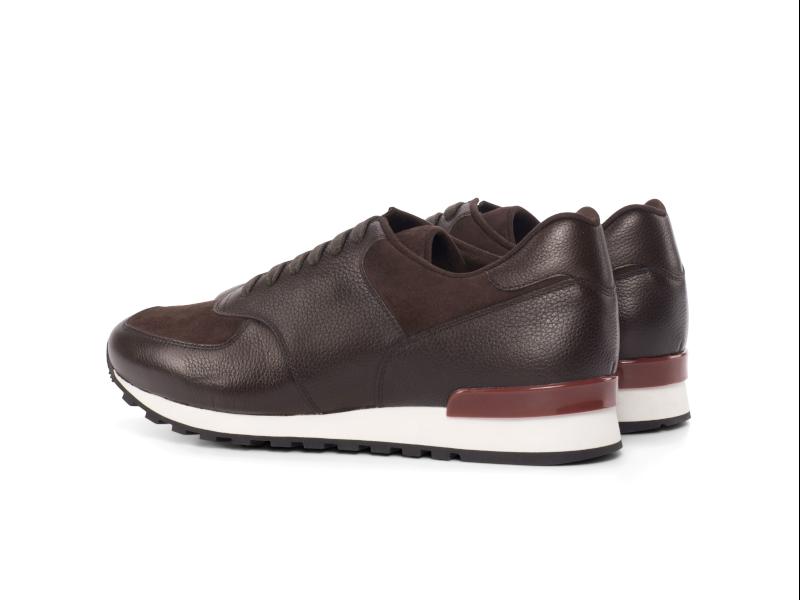 Jogger Sneaker para hombre en ante marron Cambrillon 2