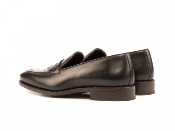 Penny loafer marron para hombre Goodyear welted Cambrillon 2