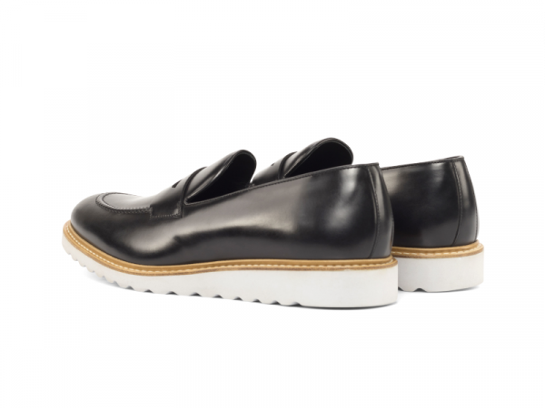 Penny loafer para hombre negro Goodyear welted Cambrillon 2