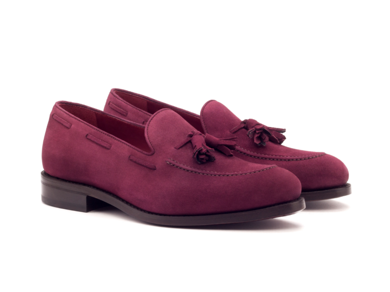Tassel loafer para hombre ante Goodyear welted Cambrillon