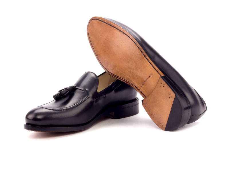 Tassel loafer para hombre negro Goodyear welted Cambrillon 3