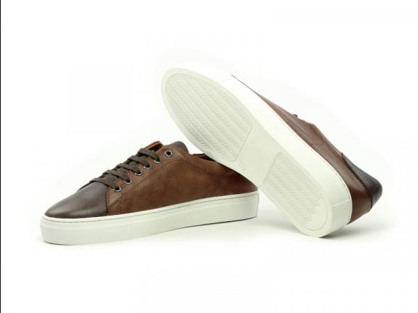 Trainer Sneaker en full grain marron Cambrillon 3
