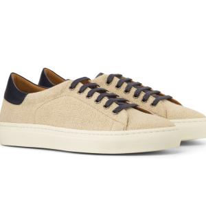 Trainer Sneaker para hombre lino beige