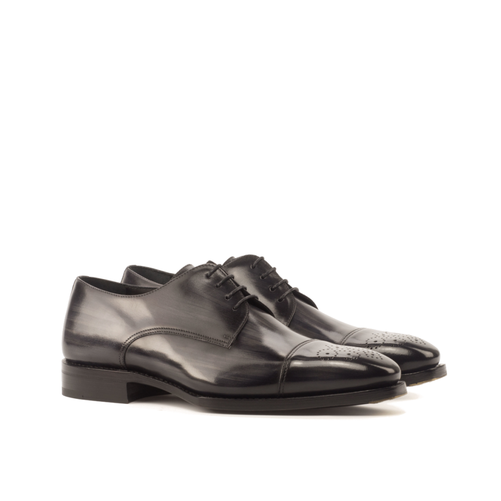 Derby patina Goodyear welted para hombre Cambrillon
